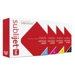 KIT 4 cartucce sublimatiche Sublijet-HD-SG800