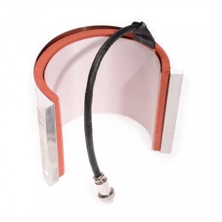 Elemento riscaldante per termopresse Secabo per tazze da 75-90 mm
