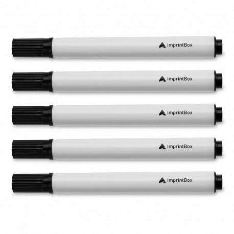 Cinque penne per la pulizia della testina di stampa della stampante per nastri