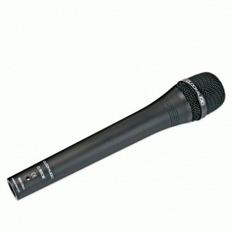 Microfono dinamico da intervista, omnidirezionale