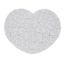 Puzzle a cuore