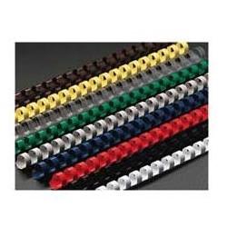 Spirali plastiche 21 anelli - sezione tonda