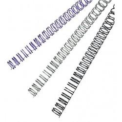 Spirali metalliche a 34 anelli