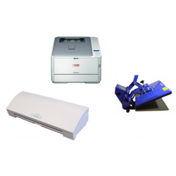 Kit completo - taglio, stampa e trasferimento termico