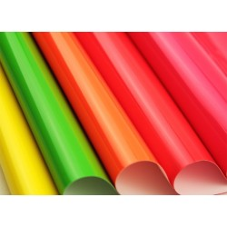 PVC autoadesivo fluo 30 cm