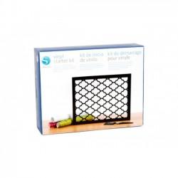 Silhouette Vinyl Starter Kit KIT-VINYL Vinile Adesivo