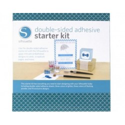 Silhouette Double Sided Starter Kit Glitter